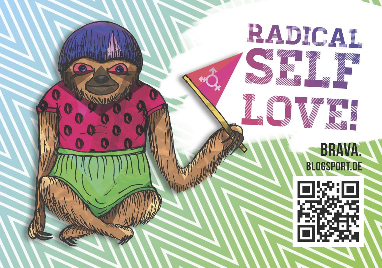 Brav_a-Sticker: Radical Self-love