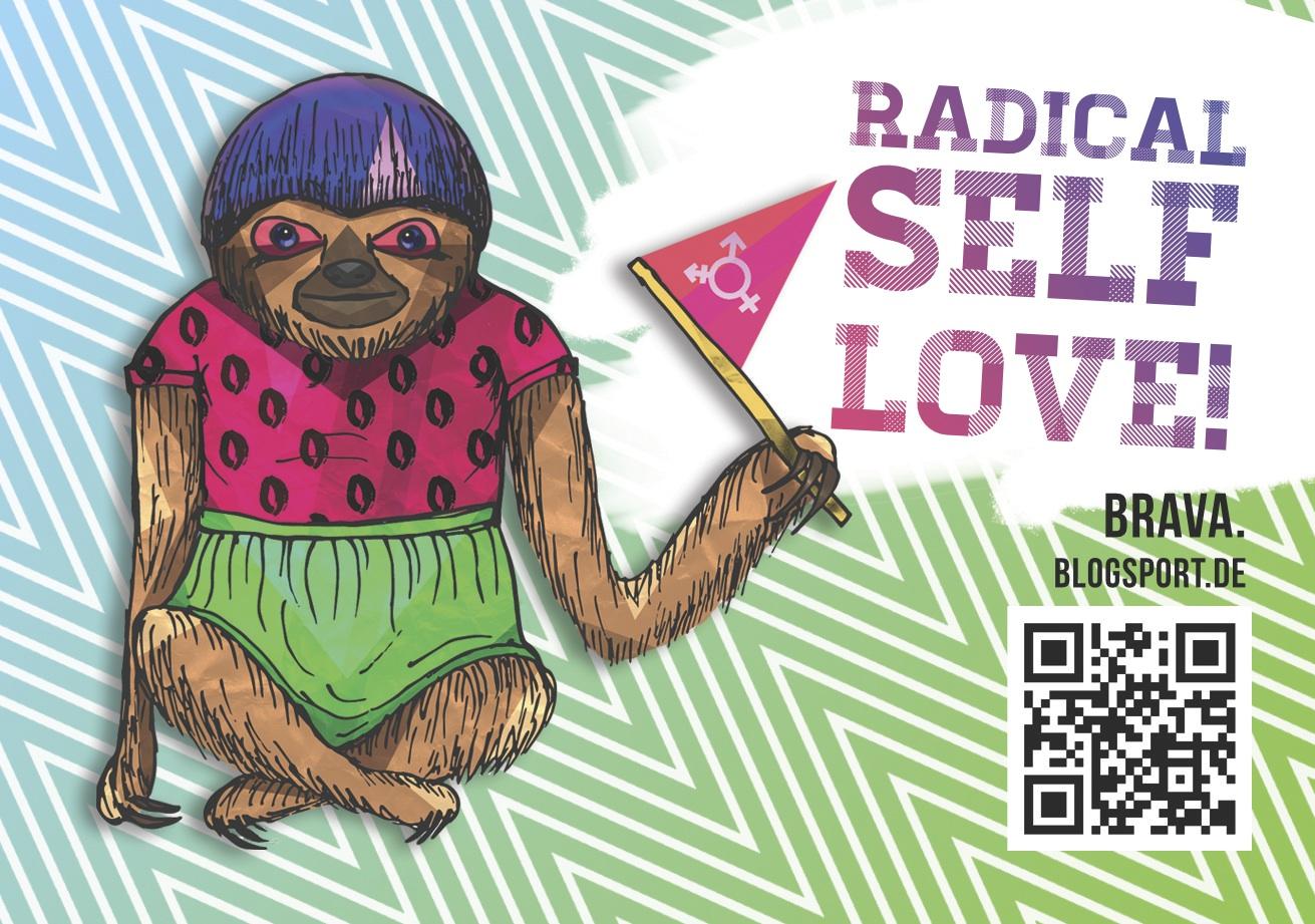 Brav_a-Sticker: Radical Self-love